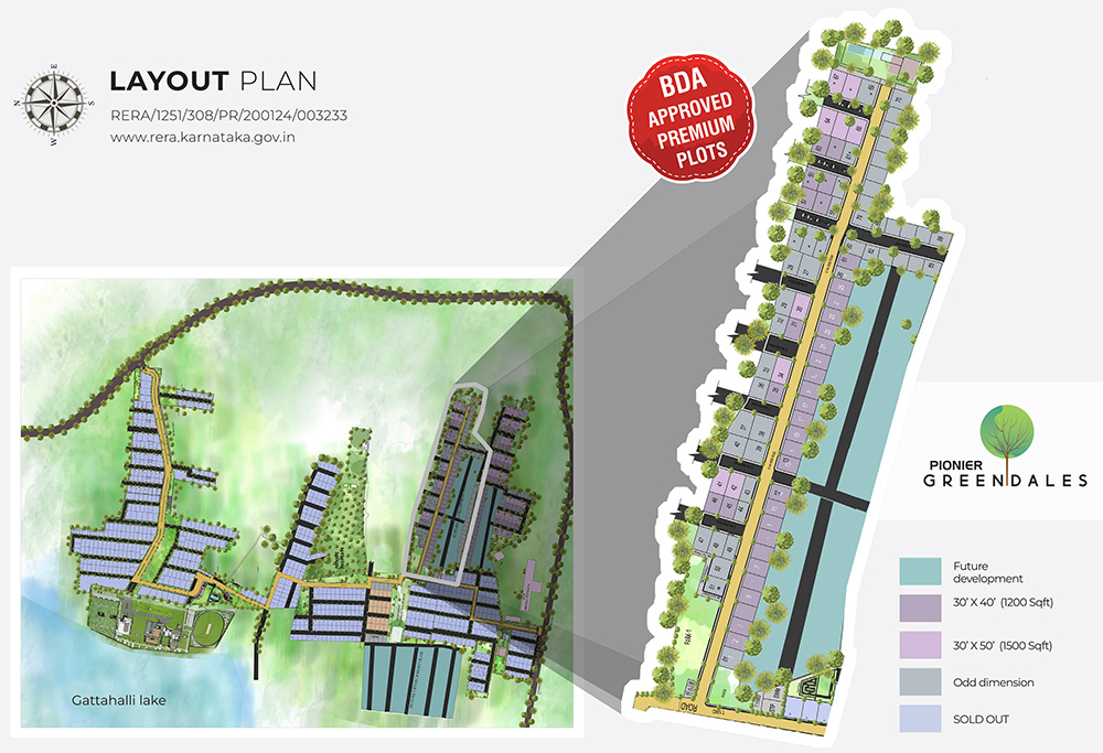 Greendales Layout Plan